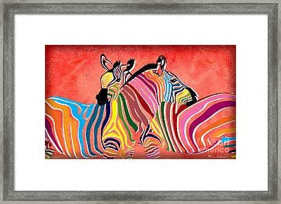 Wild Love  Framed Print by Mark Ashkenazi