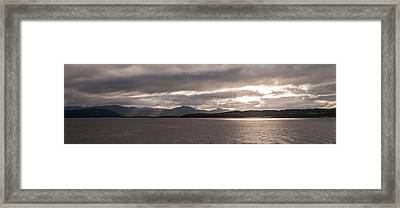 Framed Print featuring the photograph Wild Nature Of Scotland by Sergey Simanovsky
