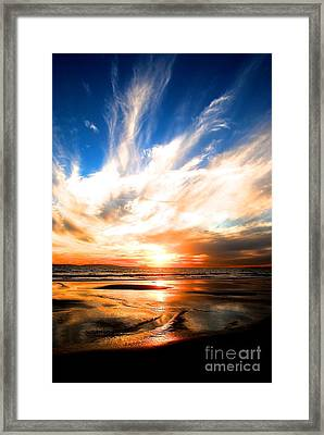 Wild Night Sky Framed Print