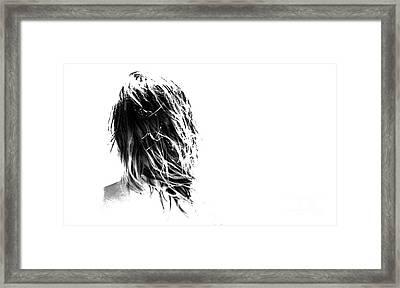 Wild One  Framed Print by Carl Warren