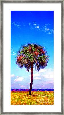 Wild Palm 1 Framed Print