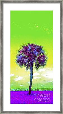 Wild Palm 3 Framed Print