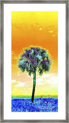 Wild Palm 5 Framed Print