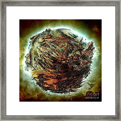 Wild Planet Framed Print by Bernard MICHEL