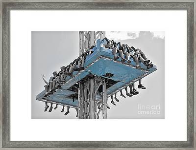 Wild Ride 2013 V.2 Framed Print by Joseph Duba