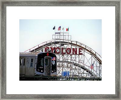 Framed Print featuring the photograph Wild Rides by Ed Weidman