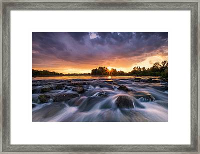 Wild River II Framed Print by Davorin Mance
