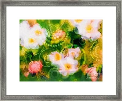 Wild Roses Framed Print by Lutz Baar