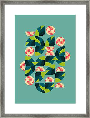 Wild Roses Framed Print by VessDSign