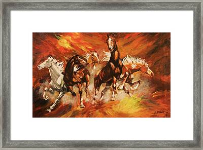 Wild Rovers Framed Print