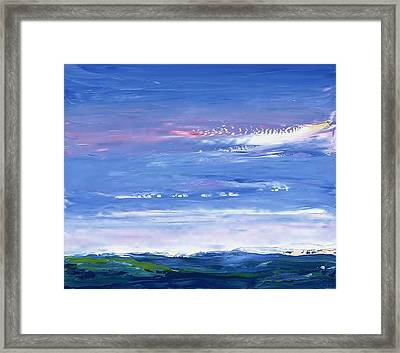 Wild Sea 1999 Framed Print