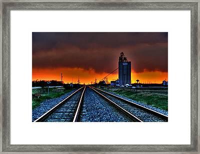 Wild Sky Framed Print by Larry Trupp