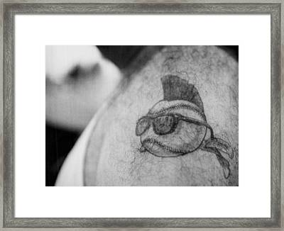 Wild Thing Tatoo Framed Print