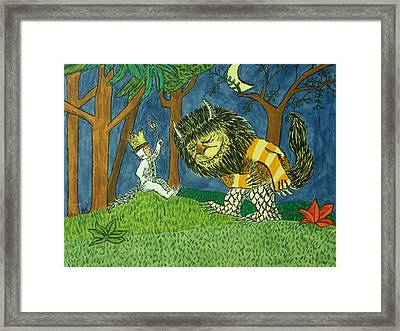 Wild Things Framed Print