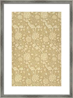 Wild Tulip Wallpaper Design Framed Print by William Morris
