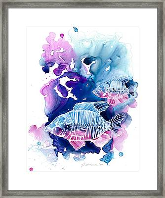 Wild Water Framed Print by Mike Lawrence