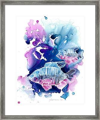 Wild Water Framed Print
