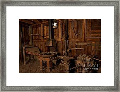 Wild West Blacksmith Framed Print