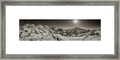 Wild West Rocks Framed Print by Scott Campbell