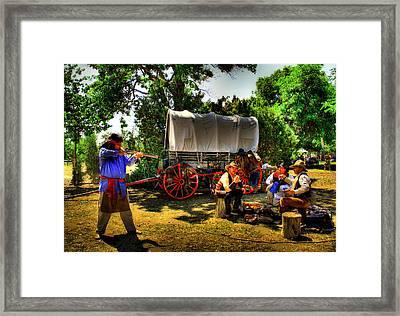 Wild West Framed Print by Sepideh Maleki