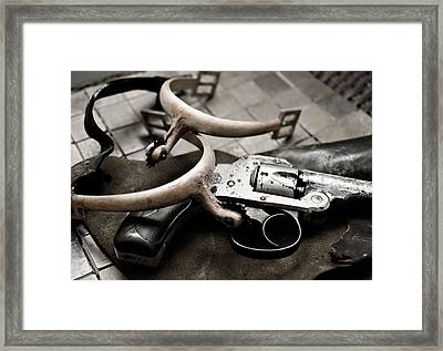 Framed Print featuring the photograph Wild West by Susan Leggett
