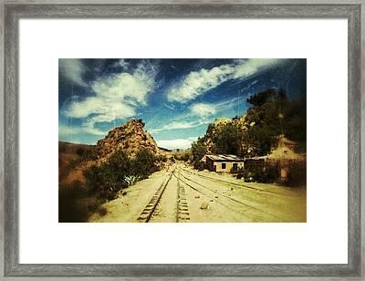 Wild Wild West Bolivia Retro Framed Print by For Ninety One Days