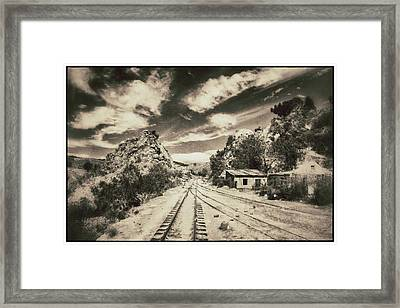 Wild Wild West Bolivia Vintage Framed Print by For Ninety One Days