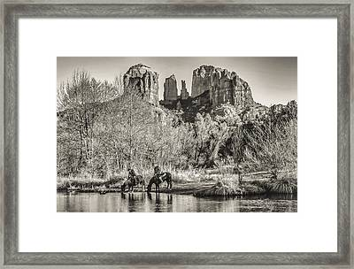 Wild Wild West Framed Print