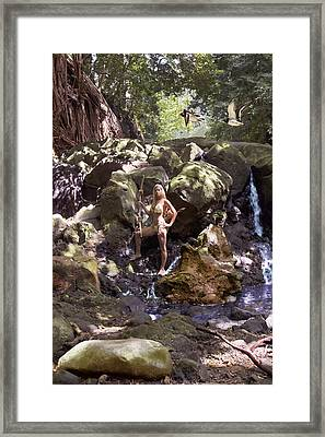 Wild Woman 2 Framed Print by Don Ewing