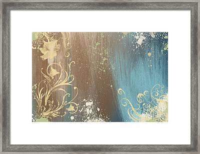 Wild Wood Framed Print by Ryan Burton