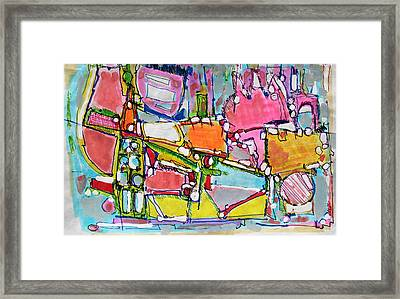 Wild World In The City Framed Print by Hari Thomas
