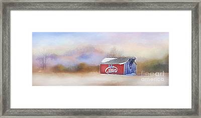 Wildcat Country Framed Print by Darren Fisher