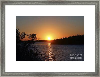 Wildcat Cove Sunset2 Framed Print