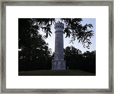 Wilder Tower Framed Print by William Watts
