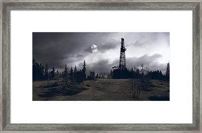 Wilderness Energy Framed Print by Daniel Hagerman