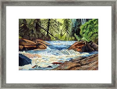 Wilderness River I Framed Print