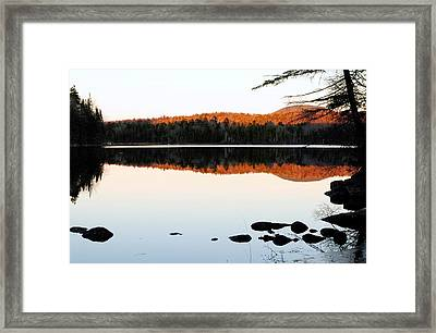 Wilderness Sunset Framed Print