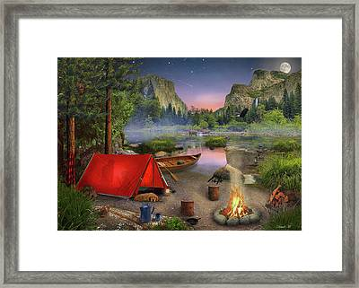 Wilderness Trip Framed Print