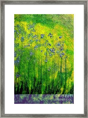 Wildflower Impression By Jrr Framed Print by First Star Art