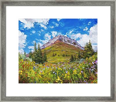 Wildflower Summer Framed Print