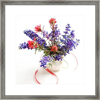 Wildflowers Framed Print by Art Block Collections