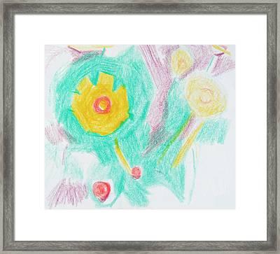 Wildflowers Cyprus Framed Print