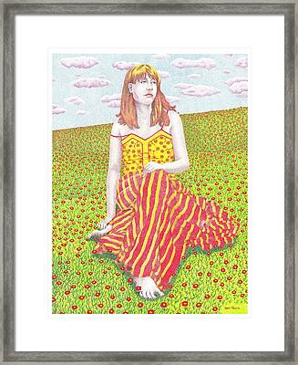 Wildflowers Framed Print by Jack Puglisi