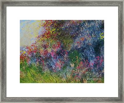 Wildflowers Framed Print