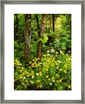 Wildflowers Two Framed Print
