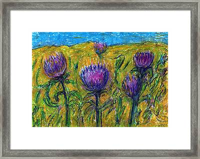 Wildflowers Framed Print by Yuri Lushnichenko