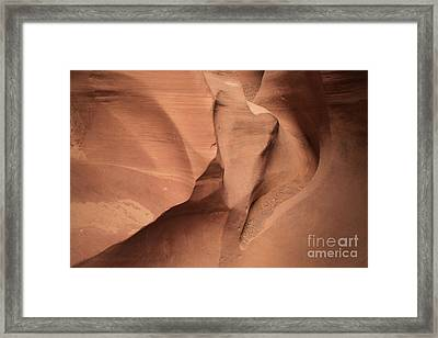 Wildhorse Curves And Lines Framed Print