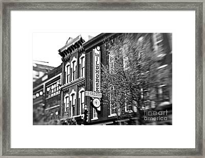 Wildhorse Saloon Framed Print by Scott Pellegrin
