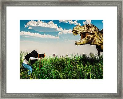 Wildlife Photographer  Framed Print by Bob Orsillo