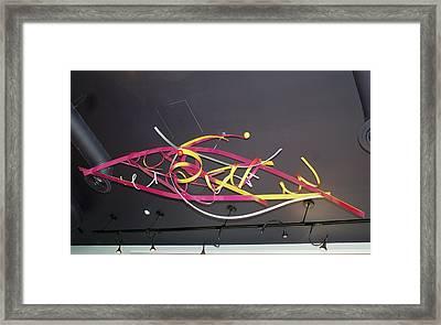 Wildly Flying Angels Framed Print by Mac Worthington